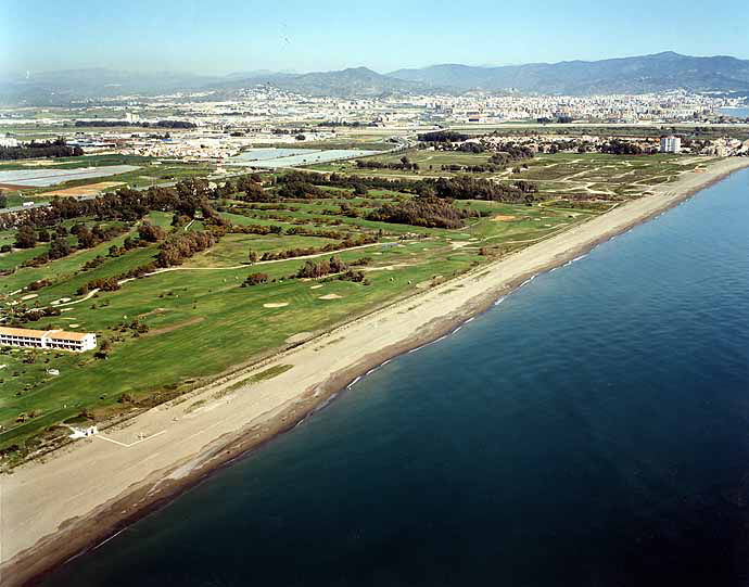 San Julian Golf Course Beach - Malaga Beaches
