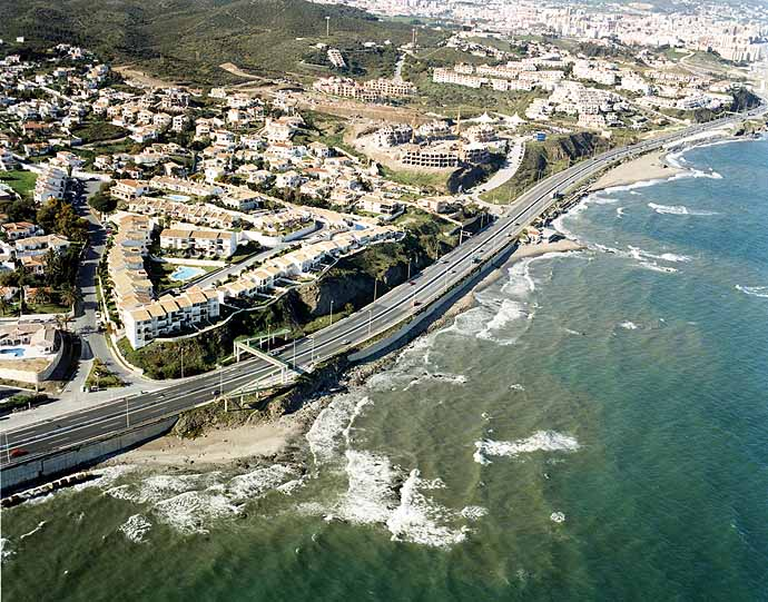 El Faro Beach - Mijas Beaches