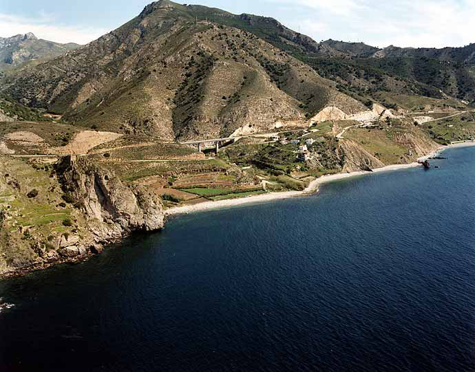 Molino de Papel beach - Beaches of Nerja